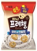[신상품] 농심 '미니프레첼 쿠키앤크림맛', 오리온 '생크림파이 1.5'